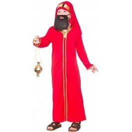 CHILDS NATIVITY WISE MAN BALTHAZAR CHRISTMAS FANCY DRESS COSTUME (3 Wise Man Kostüm)