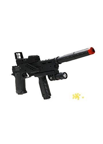 APEL PLASTIK Pistola Giocattolo a Pallini, Armi Fucile BB Gun Con Luci, Miglior Regalo per Ragazzi
