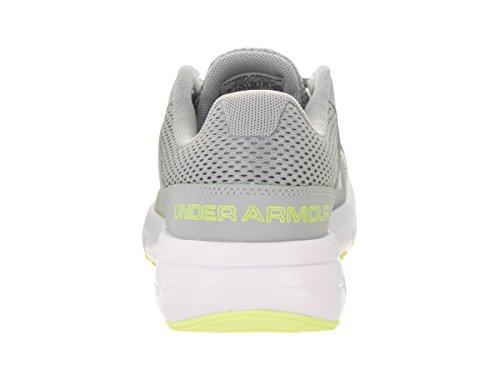 Sous-vêtement Ua W Dash Rn 2, Scarpe Running Donna Couvert Gris / Blanc / Lime Fizz
