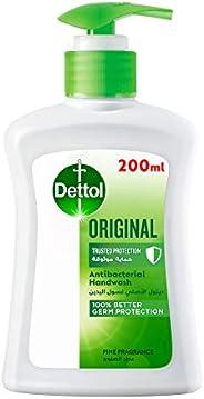 Dettol Original Handwash Liquid Soap Pump for effective Germ Protection & Personal Hygiene (protects again