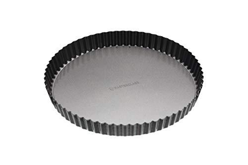 Non-stick Steel Pan Torte (Kitchen Craft Master Class Antihaft-groß aus Flan/Quiche Pfanne mit Hebeboden, 28cm (27,9cm))