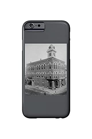 Deadwood, South Dakota City Hall Photograph (iPhone 6 Cell Phone Case, Slim Barely There)