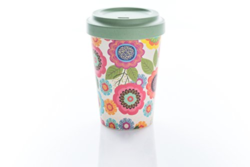 Coffe to go Becher Bamboo Cup (Flower Power)