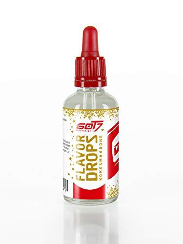 Got7 Flavor Drops X-MAS Edition - Aromatropfen - Flavordrops Kalorienfreies Aroma Lebensmittelaroma Diät Fitness 50ml (Kokosmakronen)
