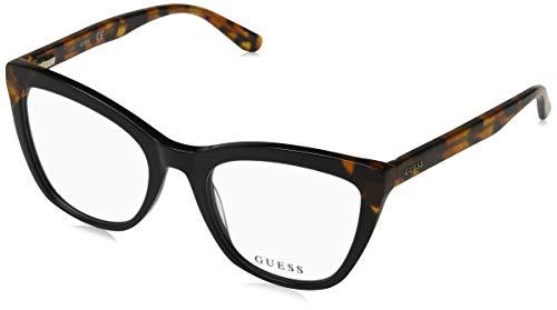 Guess Unisex-Erwachsene GU2674 005 51 Brillengestelle, Schwarz (Nero),