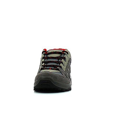 Nebbia Rosso Hi Rosso Alta tec Wp Uomo grigio Escursioni OxnfqTFn51