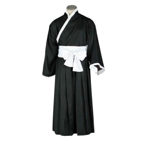 Ichigo Kostüm Bleach - Dream2Reality japanische Anime Bleach Cosplay Kostuem - Ichigo Kurosaki Kimono Black XXX-Large