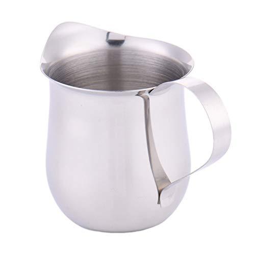 socoola Edelstahl Milch Schaum Krug Espresso Kaffee Krug Barista Handwerk Cafe 240ml -