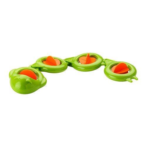 IKEA SMAKRYP - juguete de baño, la anguila
