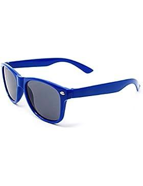 Ultra® blu per bambini colorati bambini stile classico occhiali da sole UVA UVB UV400 classiche sfumature