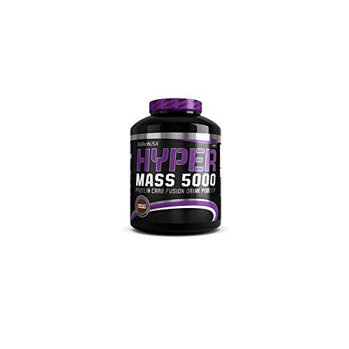 Biotech USA Hyper Mass 5000 Ganador de Peso y Carbohidratos Sabor Caramelo y Cappuccino - 2270 gr