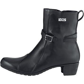 moto boots women s. ixs lea ladies leather motorcycle boots high heeled motorbike boot womens black j\u0026s (euro 35 / uk 2.5): amazon.co.uk: car \u0026 motorbike moto boots women s p