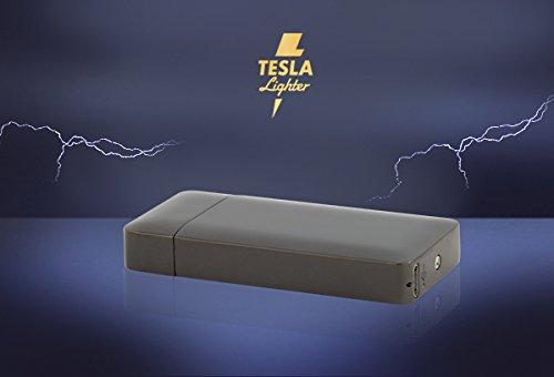 Tesla-Lighter T10 Photosensor Lichtbogen Feuerzeug USB Feuerzeug wiederaufladbar Double Arc Schwarz -