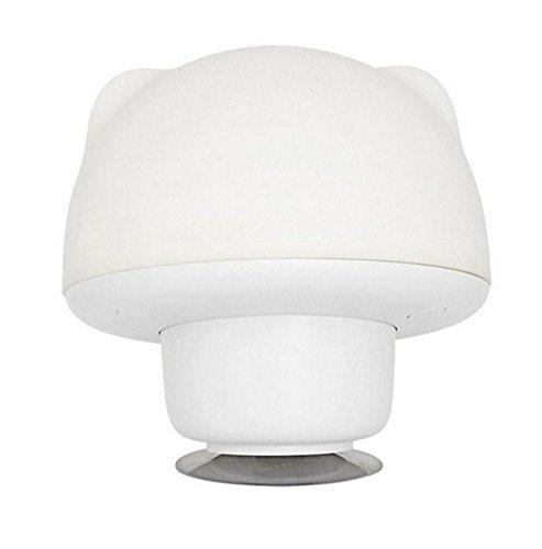 Silicone Sucker Lamp Sensitive Tap Control 7 Colores Fading Seleccionable Single Color Nursery Bedside Night Lamp Luz Ambiente Para Habitación De Bebé, Dormitorio, Comedor,White