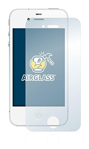 BROTECT AirGlass Pellicola Vetro Flessibile Chiaro per Apple iPhone 4S Proteggi Schermo, Vetro Protettivo - Extra-Resistente, Ultra-Leggero