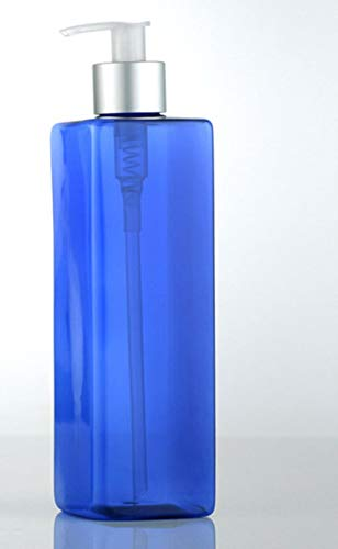 KKRIIS 1PCS 500ml Seifenspender Shampoo Desinfektionsmittel Flasche HandseifenspenderLeicht zu reinigen, Blau -