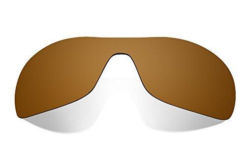 Littlebird4 polarisierte Ersatzgläser für Oakley Antix Sonnenbrillen - verschiedene Optionen, braun