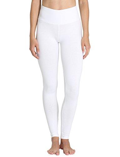 Berydale Damen Hochbund-Leggings, Weiß, XL