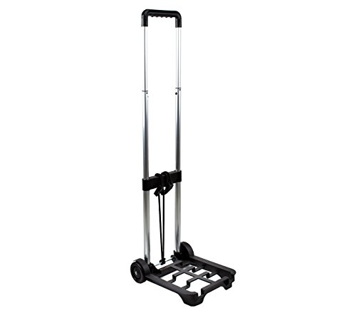 MEDIAWAVE Store Carrello porta valigia pieghevole EVERTOP 90x30x24 cm 153956 per trolley viaggio