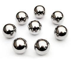 1.5mm Classe 100 Acier Chromé Ball Bearings Paquet de 10