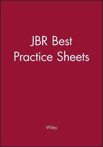 JBR Best Practice Sheets por Wiley
