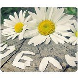 Custom Tree Trunk And Flowers Gaming Mouse Pad - Durable Office Accessory and Gift