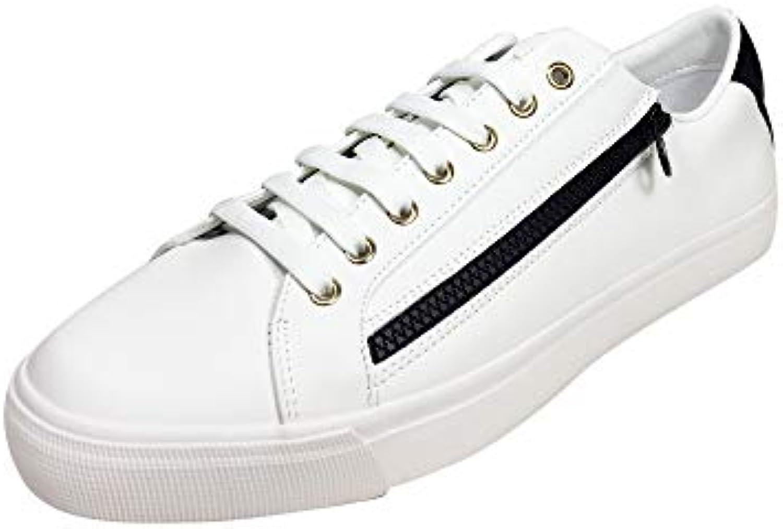 278859f713e7 Donna Uomo Zara Zara Zara Uomo scarpe da ginnastica Cerniera Bianche 2204  002 moda Consegna veloce