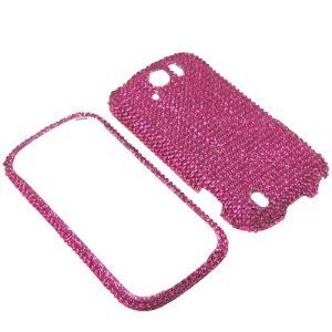 Eagle Cell RingBling Diamond Case für HTC MyTouch 4G Slide, hot pink Htc Mytouch 4g Slide