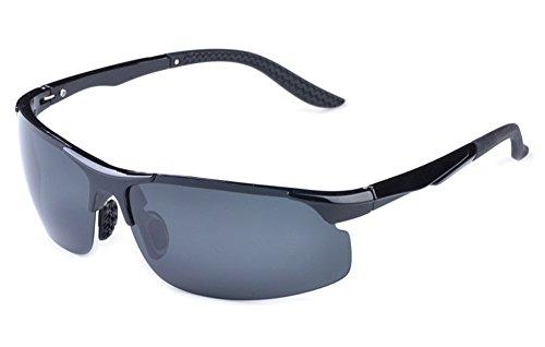 Diamante Candy Outdoor Occhiali polarizzato da Sole Uomo Sunglasses UV Glasses Occhio Protezione (Windproof, Dust-proof,anti-Shock, Anti-Sand) Per SPORTIVI MTB, Bici,Ciclismo,Trekking Casual, Hiking