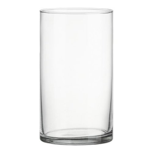 Clear Acrylic Cylinder Vase Hard Wearing Lightweight Durable Plastic 25cm High by Smithers Oasis -