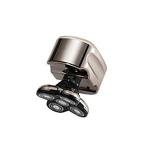 Skull Shaver Pitbull Platinum Men's Electric Head Shaver Electric Razor for Head and Face ( EU Plug )
