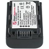 Batterie type SONY NP FH30, 6.8V, 750mAh, Li-ion