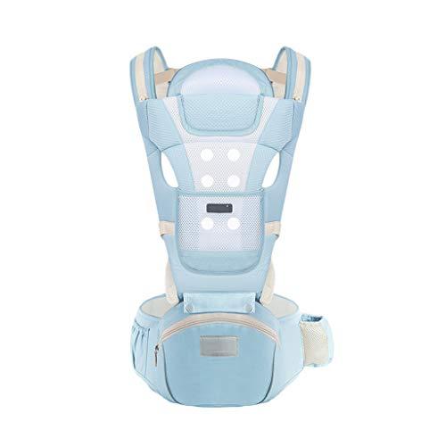 Multifonctionnel Porte-bébé Siège pour bébé Sac à Dos pour bébé 0-36 Mois Stockage en Coton Respirant ( Color : C )