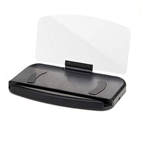 TIREOW Auto Tachometer Handy Autohalterung Windschutzscheibe Projektor HUD Head Up Display Tacho Telefon Ständer