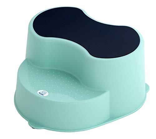 Rotho Babydesign TOP Kinderschemel, Anti-Rutsch-Trittfläche, TOP, Swedish Green (Mintgrün), 200050266