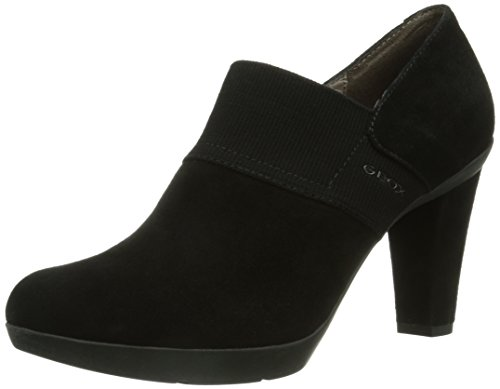 Geox D INSPIRATION, Damen Pumps, Schwarz (BLACKC9999), 37.5 EU (4.5 Damen UK)