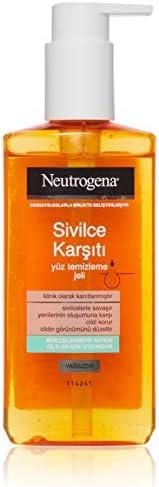 Neutrogena Visibly Clear Sivilce Karşıtı Yüz Temizleme Jeli, 200 ml