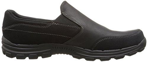 Skechers Braver-linares, Herren Sneakers Schwarz (black Blk)