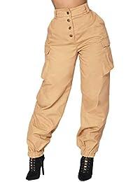 Abbigliamento Donna 2018 it Pantaloni Amazon Primaveraestate UxFqWcIRIX