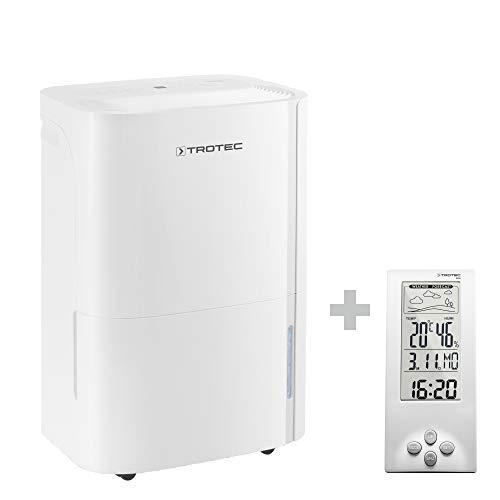 TROTEC TTK 54 E Luftentfeuchter (max. 16 l/Tag), geeignet für Räume bis 78 m³ / 31 m², Luftentfeuchter ink.BZ06