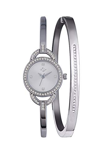 Spirit Womens Analogue Classic Quartz Watch with Stainless Steel Strap ASPL101 Best Price and Cheapest