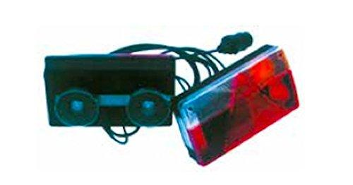 Kit magnético señalización posterior remolque bombillas