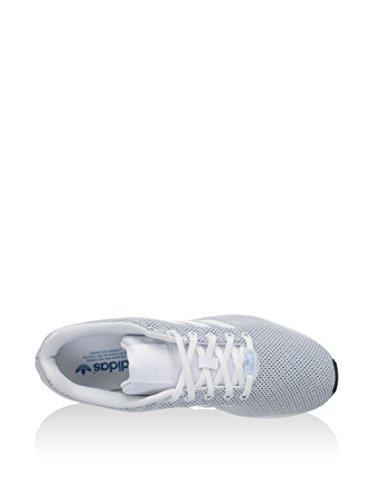 adidas ZX Flux, Chaussures de course homme Blanco / Azul / Negro