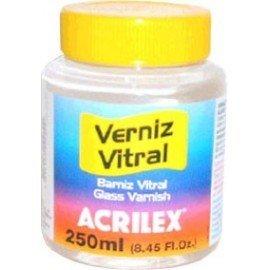 ACRILEX BARNIZ VITRAL INCOLORO 250ML