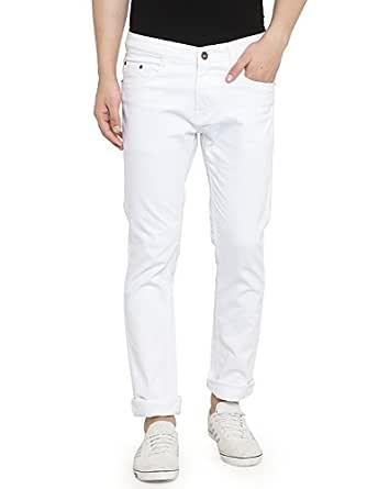 Ben Martin Men's Regular Fit Denim Jeans White_30
