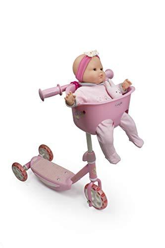 Corolle D\'arpèje Roller/Tretroller mit DREI Rädern für 2-Jährige Rosa