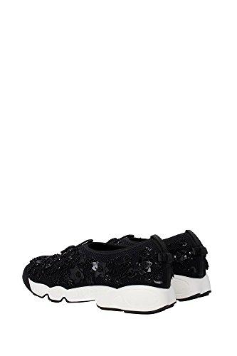 KCK112FEBS900900 Christian Dior Sneakers Femme Tissu Noir Noir