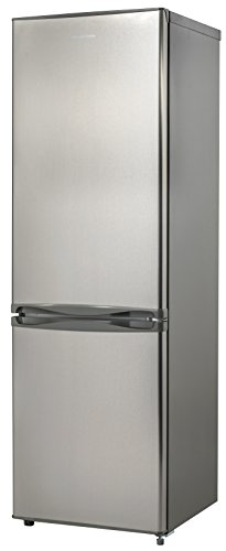 Russell Hobbs Stainless Steel 55cm Wide 170cm High Freestanding Fridge Freezer - Free 2 Year Guarantee