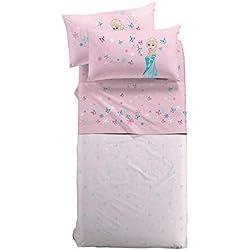 Caleffi - Juego Completo de sábanas para Cama Individual, diseño de Frozen de Disney, Art. Magic
