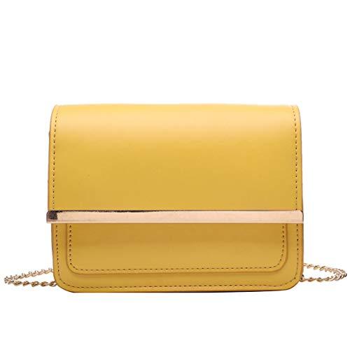 Mitlfuny handbemalte Ledertasche, Schultertasche, Geschenk, Handgefertigte Tasche,Damentasche Einfarbig Lässig Wild Square Bag Trend Single Shoulder Messenger